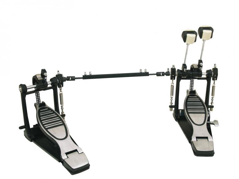 DIMAVERY DFM-1000 Tupla Rumpupedaali paino 5,4kg. Professional Double Bass Drum Pedal!