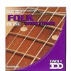 DIMAVERY FAG 217, Folk And Classical Guitar Strings, Steel Silver Plated Wound Medium, 0.13-0.56
