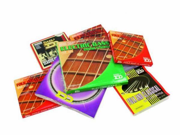 DIMAVERY CG 232, Klassisen kitaran kielet, Classic Guitar Strings, Nylon Silver Plated Wound Normal Tension 0.27-0.45, Nylon kielet klassiseen kitaraan!