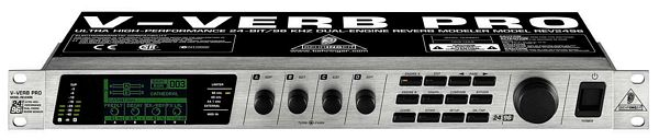 BEHRINGER V-VERB PRO REV2496 Ultra High-Performance 24-Bit/96 kHz Dual-Engine Reverb Modeler