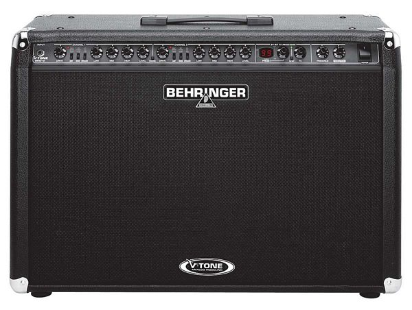 BEHRINGER V-TONE GMX212, True Analog Modeling 2 x 60-Watt Stereo Guitar  Amp.