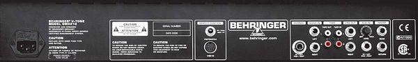 BEHRINGER V-TONE GMX210, True Analog Modeling 2 x 30-Watt Stereo Guitar Amp.
