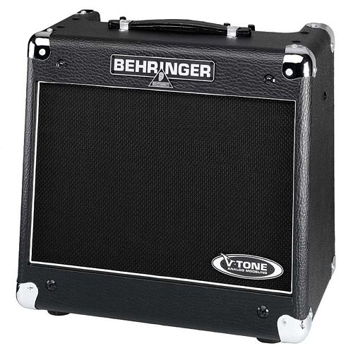 BEHRINGER V-TONE GM110, True Analog Modeling 30-Watt Guitar Amp with Speaker Simulations and Direct Out