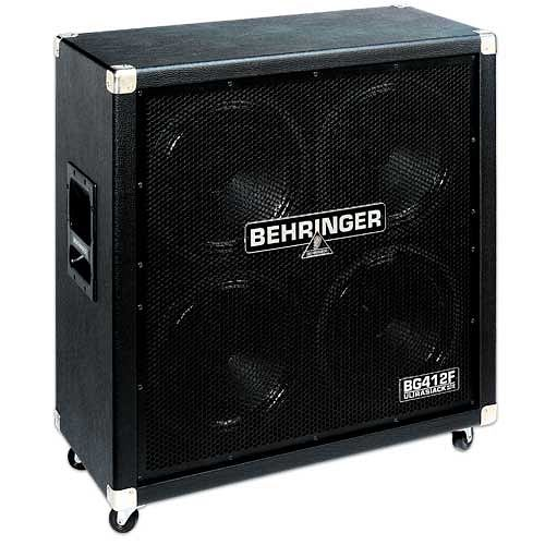 BEHRINGER ULTRASTACK BG412F, Straight 400-Watt High-Power Guitar Cabinet
