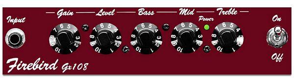 BEHRINGER FIREBIRD GX108  Kitara/ Basso herjoitus Combo vahvistin, Guitar/ Bass Practice Combos 15 W