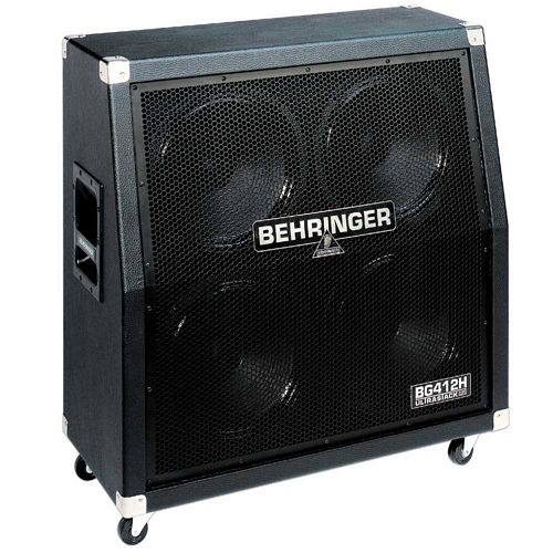 BEHRINGER ULTRASTACK BG412H, Halfstack 400-Watt High-Power Guitar Cabinet