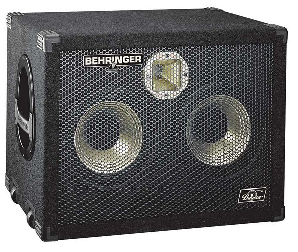 BEHRINGER ULTRABASS BA210, High-Performance 500-Watt Bass Cabinet with Original 2 x 10