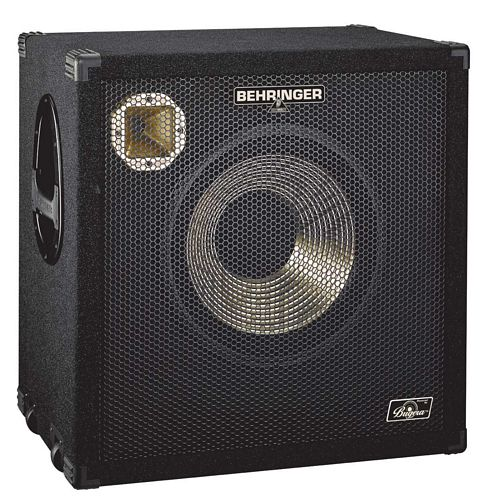 BEHRINGER ULTRABASS BA115, High-Performance 600-Watt Bass Cabinet with an Original 15