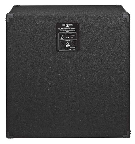 BEHRINGER ULTRABASS BB115, High-Performance 600-Watt Bass Cabinet with an Original 15
