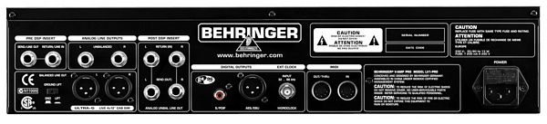 BEHRINGER V-AMP PRO, Professional Guitar Amp Modeling and Multi-Effects Processor with Additional 24-Bit/96 kHz Digital Output and ULTRA-G Cabinet Simulation