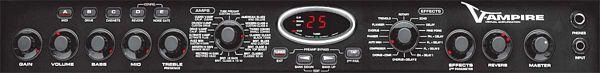 BEHRINGER V-AMPIRE LX112, 2 x 60 Watt Guitar Modeling Amplifier with 12