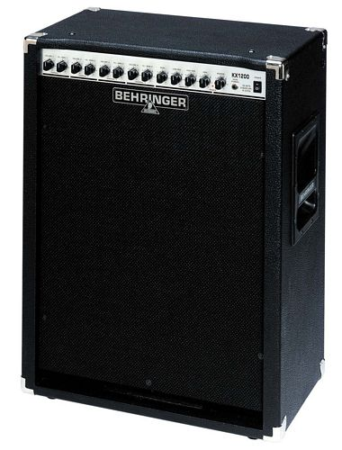 BEHRINGER KEYBOARD AMP/PA SYSTEM KX1200, 120-Watt 4-Channel Combo Amp with Mic Input and DI Out
