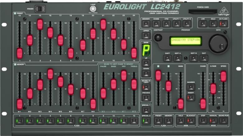 BEHRINGER EUROLIGHT LC2412 ammattitason , discoland.fi