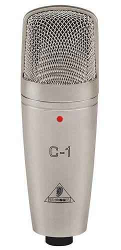 BEHRINGER STUDIO CONDENSER MICROPHONE C-1, Studio Condenser Microphone