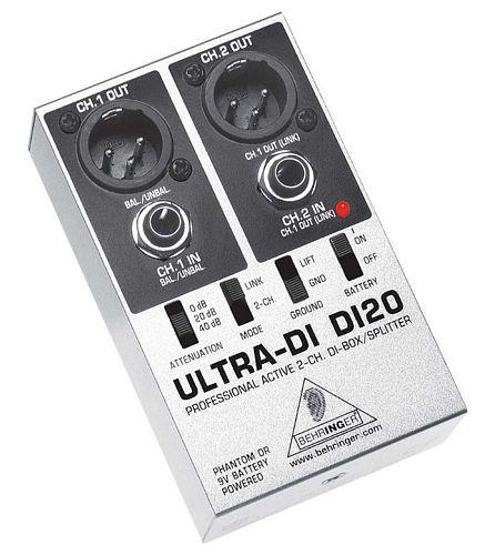 BEHRINGER ULTRA-DI DI20 Aktiivinen kaksi, discoland.fi