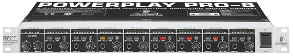 BEHRINGER POWERPLAY PRO-8 HA8000, 8-Chan, discoland.fi