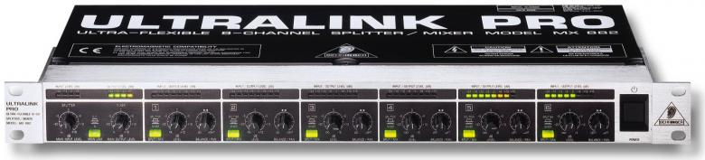 BEHRINGER Ultralink Pro MX882 Ultrajoust, discoland.fi