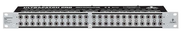 BEHRINGER ULTRAPATCH PRO PX3000, 3-Mode Multi-Functional 48-Point Balanced Patchbay
