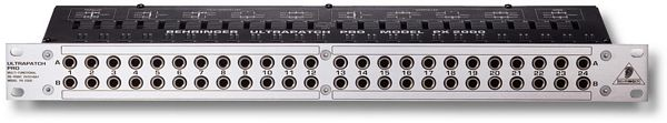 BEHRINGER ULTRAPATCH PRO PX2000, 48-Point Switchable Patchbay with 4 Modes