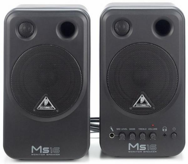 BEHRINGER MS16 Monitor Speakers MS16 on , discoland.fi