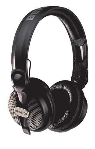 BEHRINGER HPX4000, Closed-Type High-Definition DJ Headphones