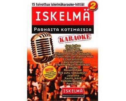 ISKELMÄKARAOKE Iskelmäkaraoke 2 DVD le, discoland.fi