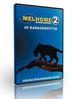 MELHOME VOL 2 DVD karaoke levyllä on 40, discoland.fi