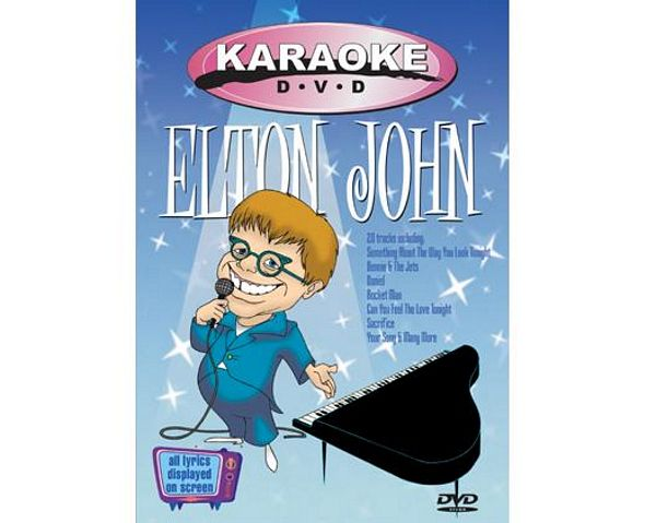KARAOKE DVD Elton John karaoke, discoland.fi
