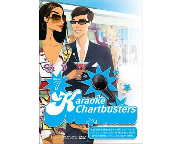 KARAOKE DVD Karaoke Chartbusters Vol.7, discoland.fi
