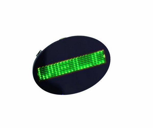 EUROLITE LED Badge green 128 letters. LE, discoland.fi