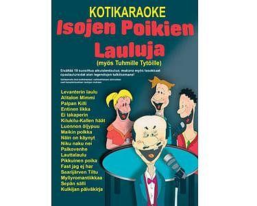 KARAOKE DVD Isojen Poikien Lauluja, Koti, discoland.fi