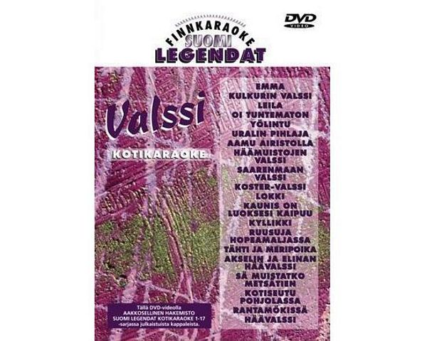 FINNKARAOKE 17. Valssi( valssit)(DVD)Suo, discoland.fi