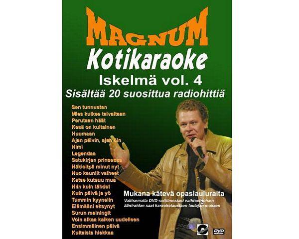 POISTO Magnum Kotikaraoke DVD Iskelmä V, discoland.fi