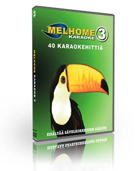 MELHOME VOL 3 DVD karaoke Levyllä 40 on, discoland.fi