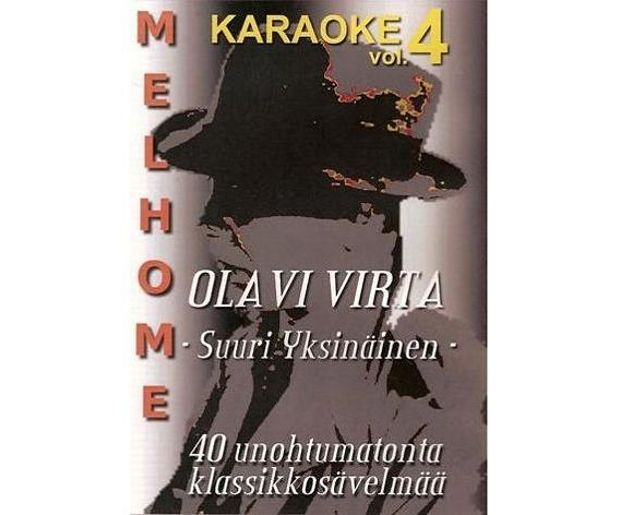MELHOME VOL 4 DVD karaoke Olavi Virta le, discoland.fi