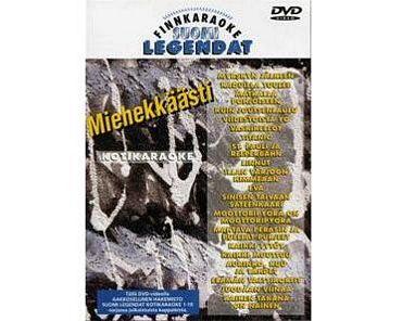 FINNKARAOKE Miehekkäästi karaoke DVD l, discoland.fi