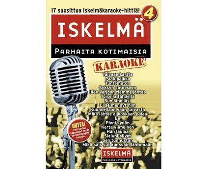ISKELMÄKARAOKE Iskelmäkaraoke 4 DVD ka, discoland.fi