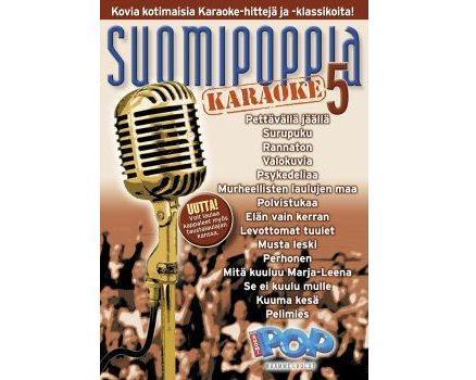 SUOMIPOP Suomipoppia Vol 5 karaoke DVD l, discoland.fi