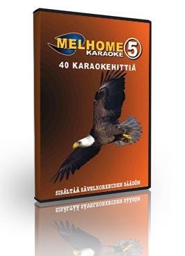 MELHOME Vol 5 KARAOKE DVD Levyllä on pe, discoland.fi