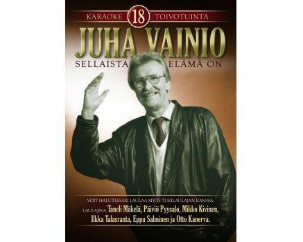 KARAOKE DVD Juha Vainio 18 Toivotuinta K, discoland.fi