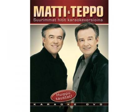 KARAOKE DVD MATTI & TEPPO Suurimmat Hiti, discoland.fi