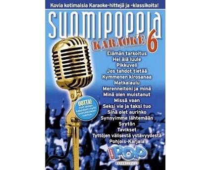 SUOMIPOP Suomipoppia Vol 6 karaoke DVD l, discoland.fi