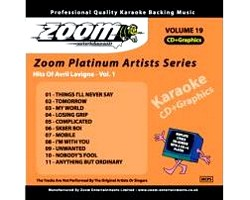 KARAOKE CDG Platinum Artists: Avril Lavi, discoland.fi