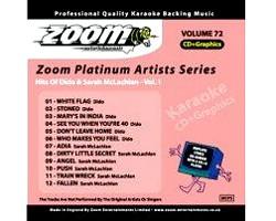 KARAOKE CDG Platinum Artists: Dido & Sar, discoland.fi