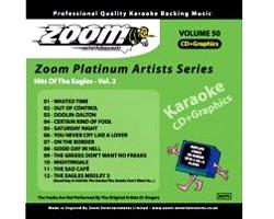 KARAOKE CDG Platinum Artists: Eagles Vol, discoland.fi