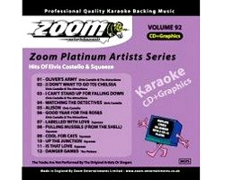 KARAOKE CDG Platinum Artists: Elvis Costello & Squeeze