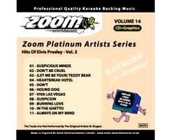 KARAOKE CDG Platinum Artists: Elvis Pres, discoland.fi