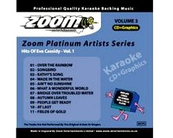 KARAOKE CDG Platinum Artists: Eva Cassidy Vol.1<br />