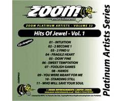 KARAOKE CDG Platinum Artists: Jewel Vol., discoland.fi