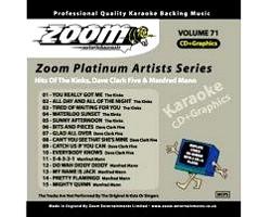 KARAOKE CDG Platinum Artists: Kinks, Dav, discoland.fi